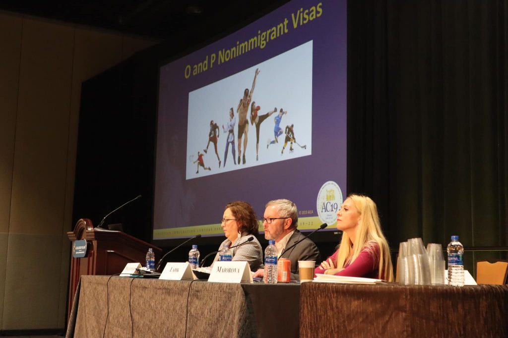 Sports Visa Lawyer Ksenia Maiorova Speaking At AILA Conference