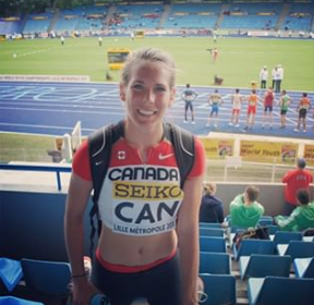 Sports Visa Lawyer client -Canadian middle-distance runner Ashley Taylor